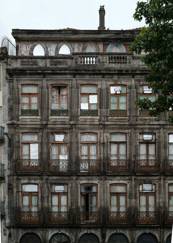 Architecture Building Exterior Built Structure Window History No People Old Day The Past Arch Building Abandoned City Outdoors Nature Tree Travel Destinations Sky Obsolete Ruined Dereliction