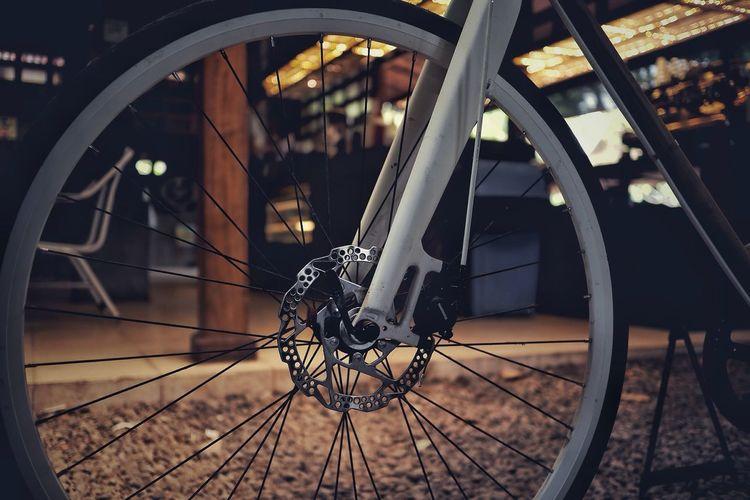 Wheel Bicycle Transportation Spoke Metal Land Vehicle EyeEmNewHere