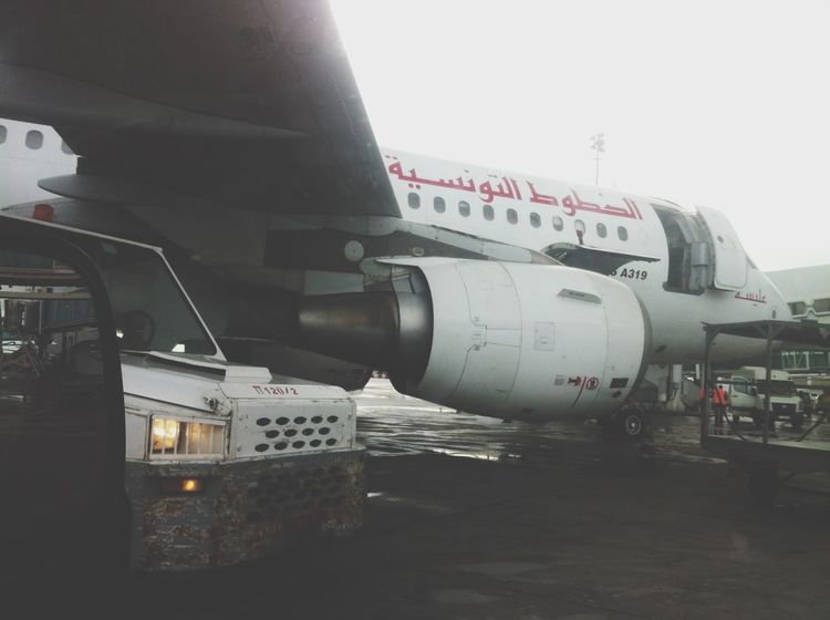 Loading Airbus A319 Work Hard Transportation Mode Of Transport Public Transportation Day Outdoors Nature