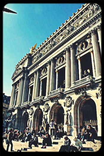 Palais Garnier Architecture Old Buildings Paris