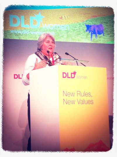 SV veteran Karen Wickre of Twitter: Upside of grey hair: brings authority! #dldw12