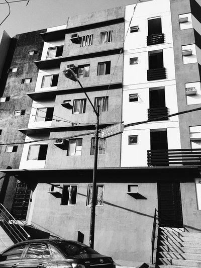 Apartment Architecture Building Exterior Built Structure Low Angle View Outdoors Residential  Residential Building Window