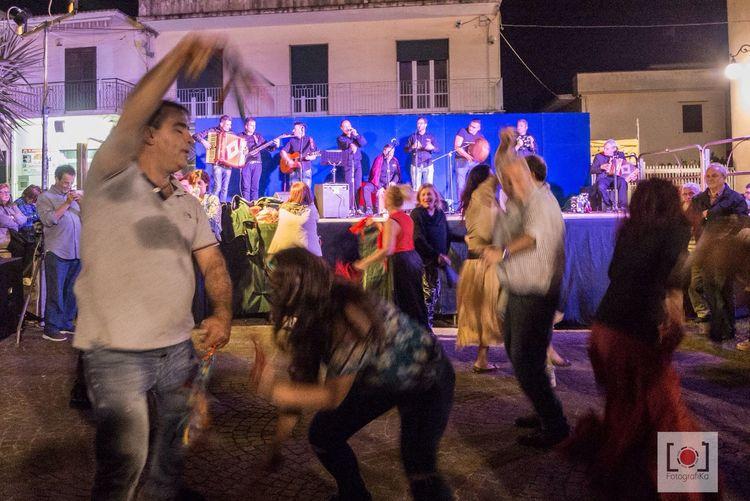 Folk dance in