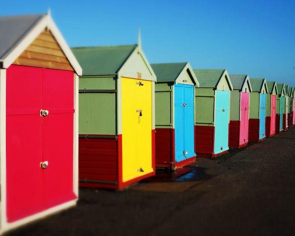 Hove Beach Huts First Eyeem Photo