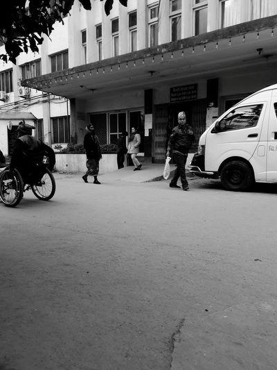 Black & White Op Myringoplasty Bir Hospital Kathmandu Nepal