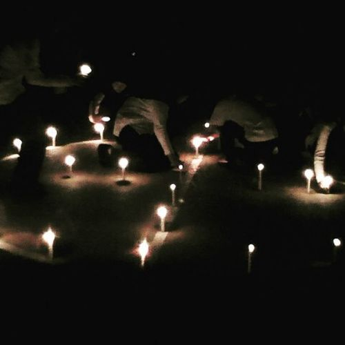Lilin persahabatan PMR 127. SMP N 127
