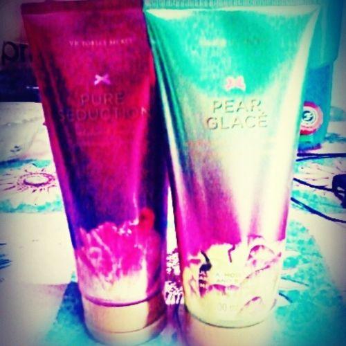 Thank you @chaichiiii sa bagong @victoriassecret lotion! :) paubos pa nga lang yun isa, may kapalit na agad! Yihii! <3 bango bango! :) Vslotion