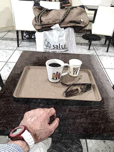 ちょっと買い物して休憩♪(*^_^*) OSAKA 大阪 Umeda 梅田 カフェ Coffee Cafe