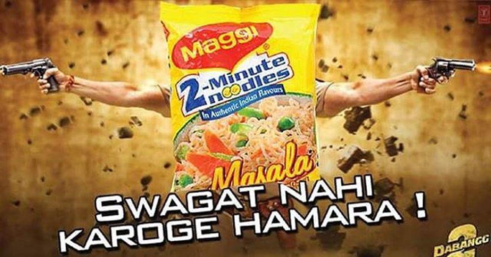 Like a boss Maggiisback Yummy 2minutes 🍝