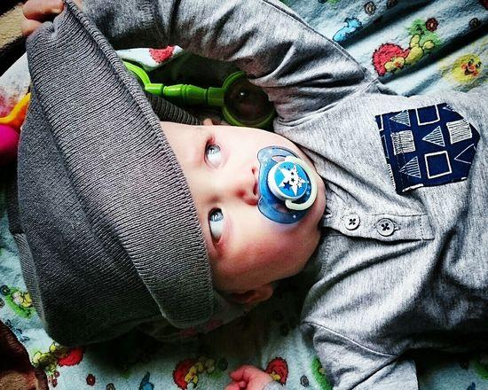 Children Happy People Son Toddler  Blue Eyes Eyes The Week Of Eyeem Godson