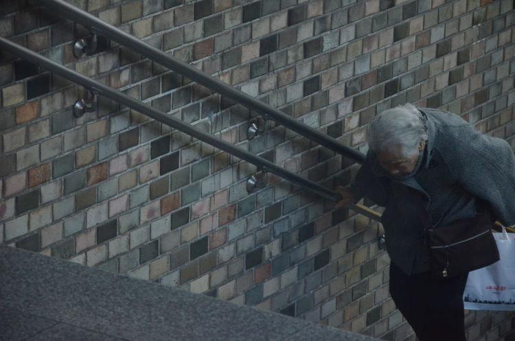 週日清晨5℃的新宿車站,婆婆一手提著手信,一手扶著扶手,一步一階的走上樓梯。到達路上時愉悅的張望了四周,是要跟幾十年的好友見面了,還是要來抱抱可愛的孫兒們呢? 坐在觀光巴士上的我,突然好想回家。Age Aging Aging Society Alone Balcony Diminishing Perspective Getting Inspired Learn & Shoot: Working To A Brief Lifestyles Occupation Old Photographic Memory RePicture Ageing Staircase Stairs Steps Steps And Staircases Old But Awesome The Tourist WomeninBusiness Q Women Who Inspire You Showing Imperfection Telling Stories Differently Up Close Street Photography Colour Your Horizn This Is Aging