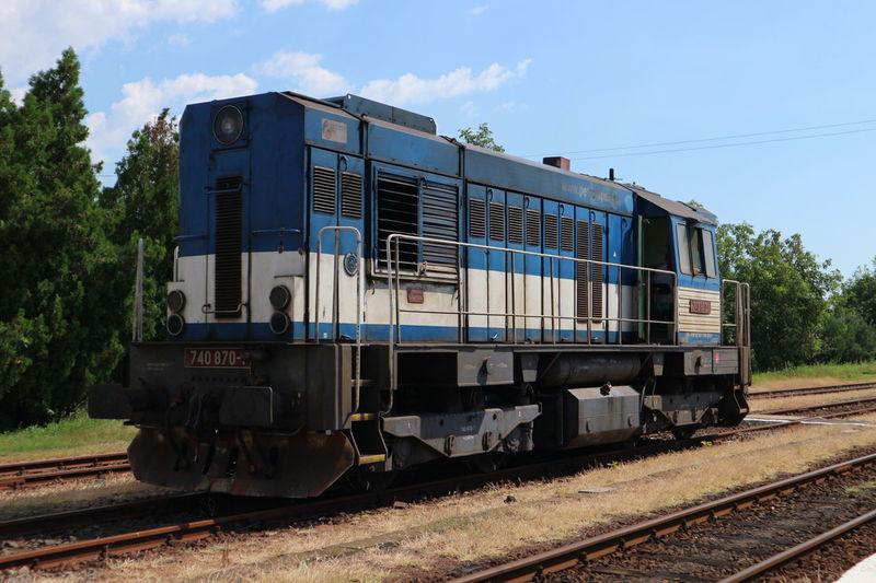 Railway Station Gyula Canon M10 Train Transportation