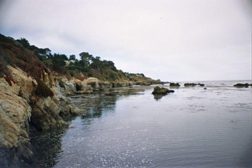 Carmel Highlands Outdoors Rock Formation Rock - Object Scenics Rock Portra800 La Sardina Beach Koduckgirl Film