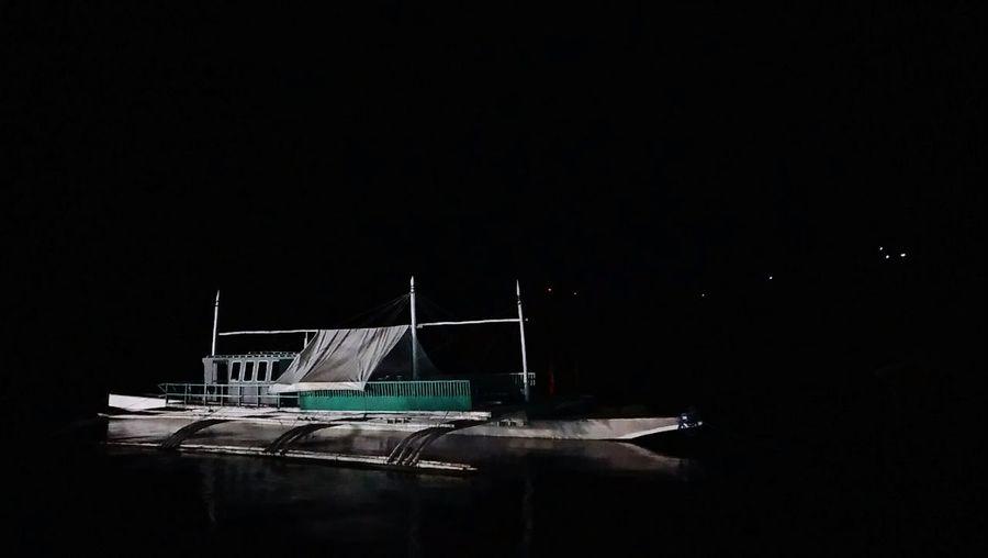 Bangka. Night No People Outdoors Boat Sea