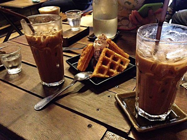 Waffled] Waffle Coffee