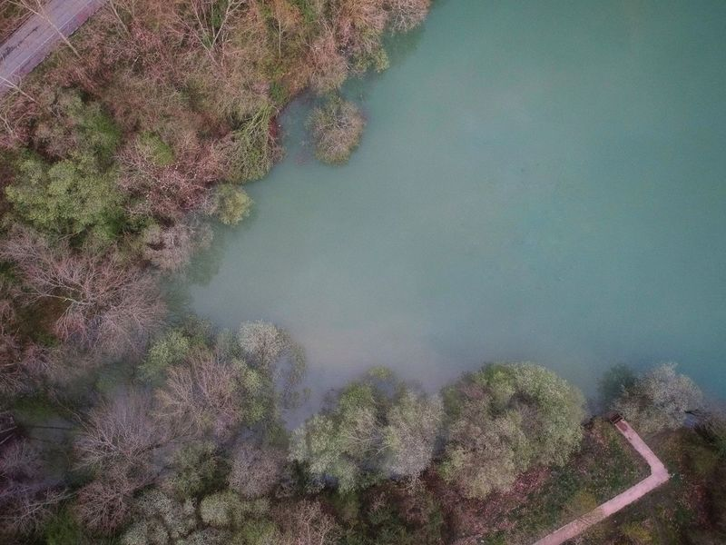 Udazkena Urkulu Autumn Autumn colors Autumn Leaves Dji Dji Spark DJI X Eyeem Nature No People Non-urban Scene Water Drone  Dronephotography Tranquility Relax Tourism Travel Colors Colorful Tree Mountain Water Aerial View High Angle View Sky Landscape Plant Green Color Idyllic