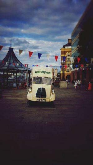 Ice Cream Icecream Van Summertime London