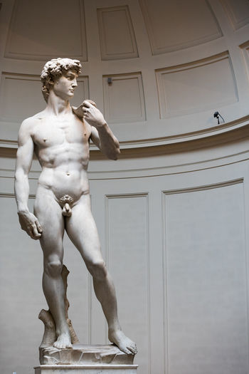 Day Fine Art Statue Florence Full Length Human Representation Indoors  No People Sculpture Statue