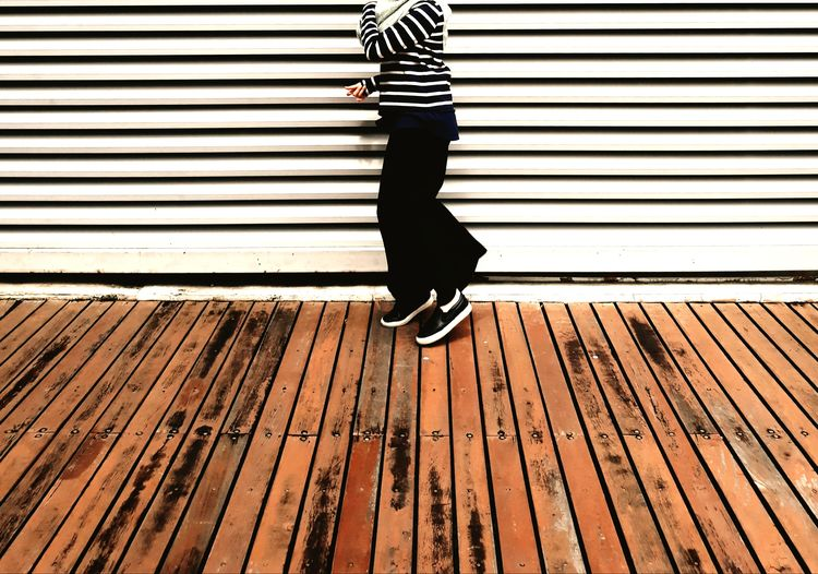 Stripes on stripes #streetphotography #stripes #Shoes  #timber #girl #minimalist #minimal #minimalism Low Section Standing Outdoors Day Human Leg Casual Clothing One Person EyeEmNewHere Fashion Stories
