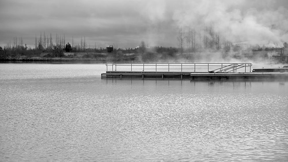 Black & White Iceland Outdoor Spa Serenity Swimming Architecture Beauty In Nature Built Structure Day Dive Off The Edge Geothermal Activity Hot Spring Laugarvatn Nature Nature Bath No People Outdoors Relaxation Serene Outdoors Sky Thermal Spa Tranquility Water