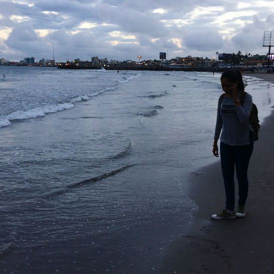 Water Sea Sky Beauty In Nature Beach Sea And Sky Veracruz, México Sky And Clouds ExploreEverything Nature