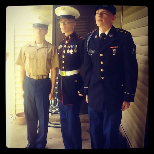 Two marines and one army! My brothers and my cousin! Go add them!