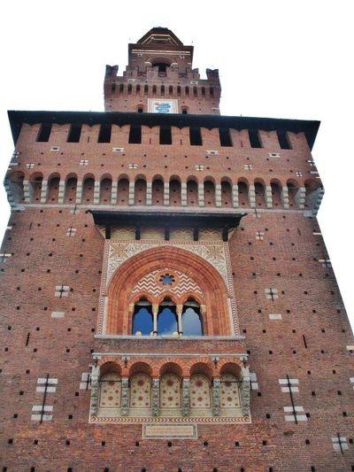 Castello Sforzesco Torre Del Filarete