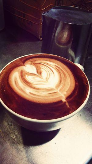 Madebyme Chocpucinno Latteart Blackcanyon Coffee