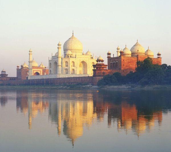 Agra Tajmahal India 7wondersoftheworld