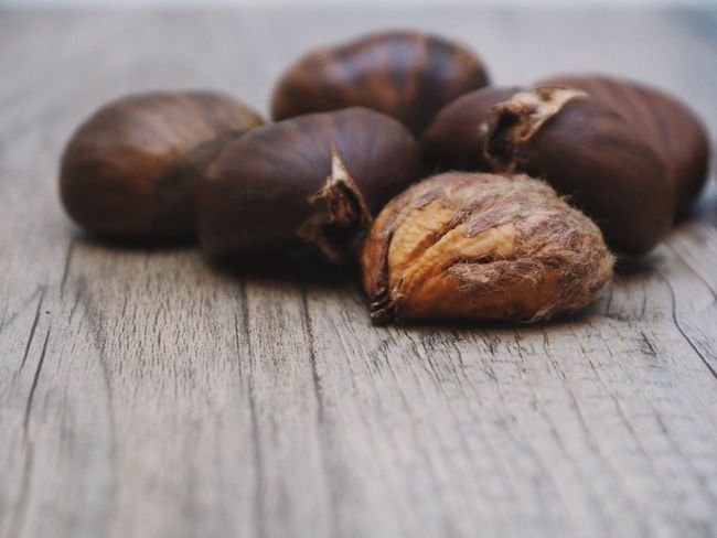 Brown Close-up Day Food Food And Drink Freshness Healthy Eating Indoors  No People Nut - Food Nutshell Selective Focus Still Life Table Walnut