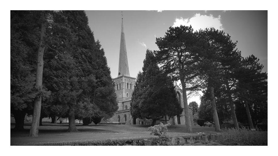 St Marys Church, Tree Outdoors No People Day Architecture Nature Sky Hemel Hempstead Gadebridge Park First Eyeem Photo