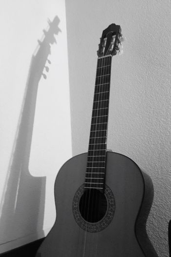 Guitar Wall - Building Feature Music Indoors  Musical Instrument Home Interior Musical Instrument String No People Day Close-up The Still Life Photographer - 2018 EyeEm Awards