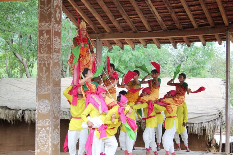 Rajasthan folk dance Multi Colored Outdoors People Celebration Dramatic Sky Beauty In Nature Rural Scene Udaipur_dairies Udaipur. India Canon Canonphotography Udaipur Weather Rajasthandiaries Rajasthan Folk Art Dance