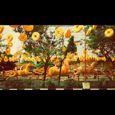 Yearofthehorse Chinatown Chinese NewYear