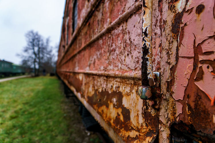 Rusty old train