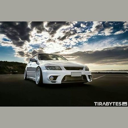 Altezza week this week! White and Matteblack Turbo Slammed stancenation stance is300 is200 altezza 3sget auckland sunset tirabytes whiteonwhite