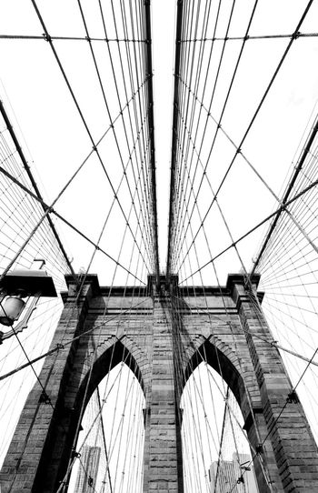 Connection Architecture Built Structure Bridge - Man Made Structure Engineering Transportation Sky Low Angle View Suspension Bridge Arch No People Day Building Exterior Outdoors Steel Cable Bascule Bridge Adapted To The City