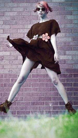 Check This Out Zombie Smerf Fashion LazyOaf Fashion Photography Jeffreycampbell