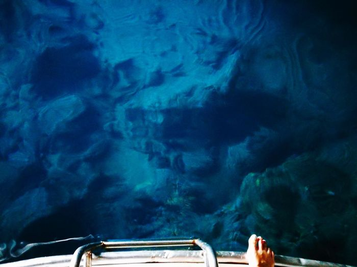 Blue cave HuaweiP9 Cave Blue Cave Transparent Water On The Boat Deap Water Blue Water Mediterranean Sea Montenegro Wild Beauty Summer HUAWEI Photo Award: After Dark Close-up