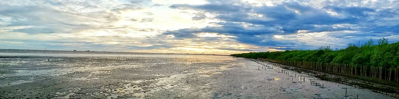Landscape Nature Thailand Sunset Beach Panorama HDR Highcontrast Highsaturation