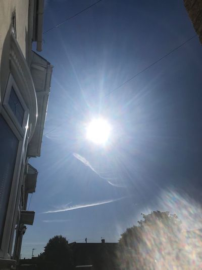 Morning all Sky Sunbeam Architecture Sunlight Built Structure Sun Lens Flare