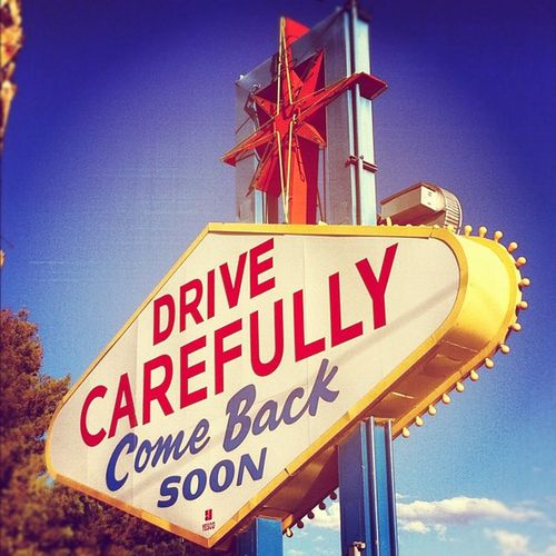 So Long, Farewell, Auf Wiedersehen, Goodbye Goodbye Vegasbaby Thestrip Lasvegas Timewireless Famoussign Theotherside