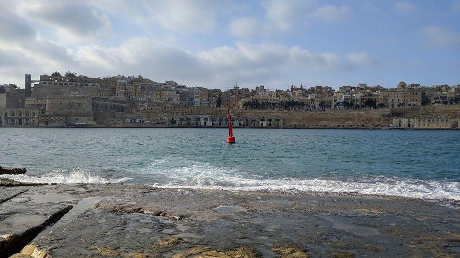 The buoy. Malta