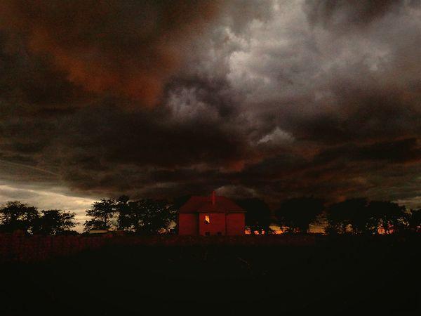 Odessa Ukraine Sunset Darkclouds Clouds Landscape