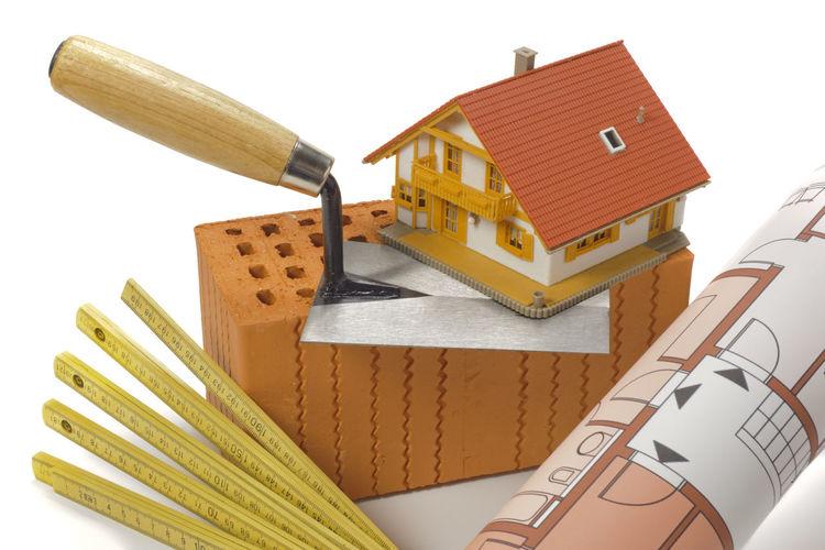 tools and brick