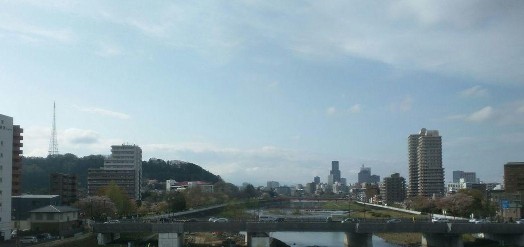 新幹線の車窓から。広瀬川と仙台♪ Taking Photos Relaxing Enjoying Life