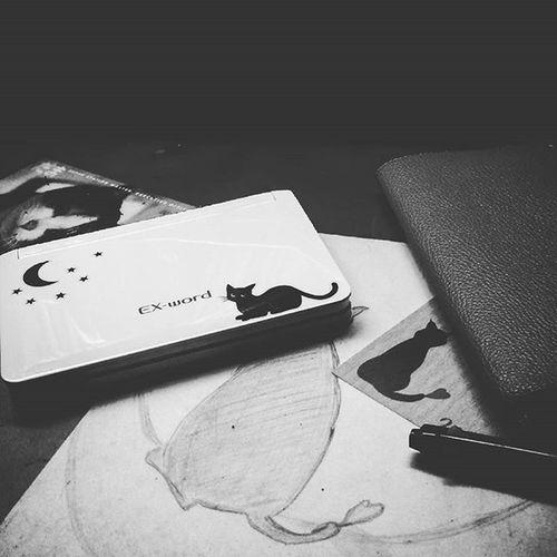 Sticker of Chat noir Chatnoir BLackCat GatoPreto 黒猫 ケーキ屋さん Design シャノワール Insta再始動