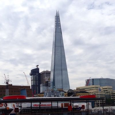 The shard. Tallest building in Britain (309.7m) Tallest Tallestbuilding Britain London Thames Theshard Shard