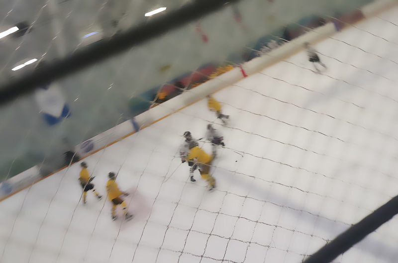 Advanced Youth Hockey Angles And Views California Golden Bears Hockey Club Filter Applied Greatest Game In The Universe Ice Hockey My Son's Passion Thematic Presentation Yellow Vs White Jerseys Youth Hockey
