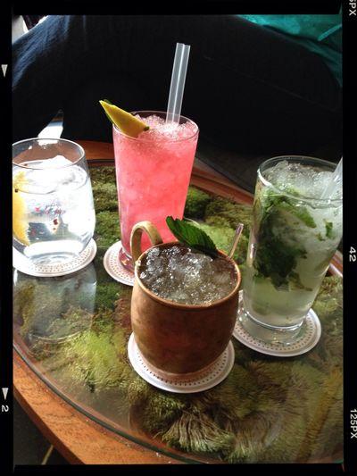 México City. Drinks Cocktails